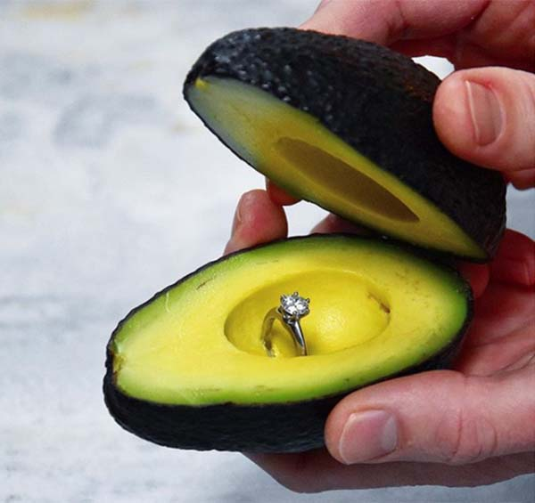 'I Avoca-Do': Believe It or Not, Avocado Ring Boxes Are Now a Thing