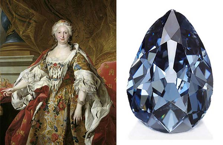 After Being Secreted Away for 300 Years, Historic 'Farnese Blue' Diamond Emerges at Sotheby's